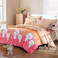 【小E家纺】新款家纺床上用品纯棉四件套全棉斜纹活性印花四件套