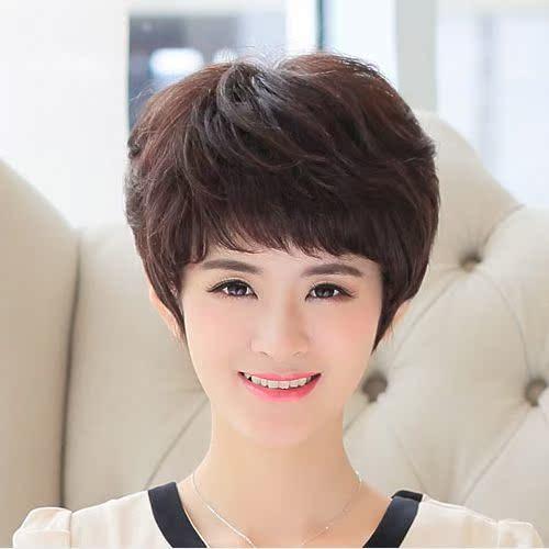 女士发型短发_40岁女士短发发型图片 v118.com