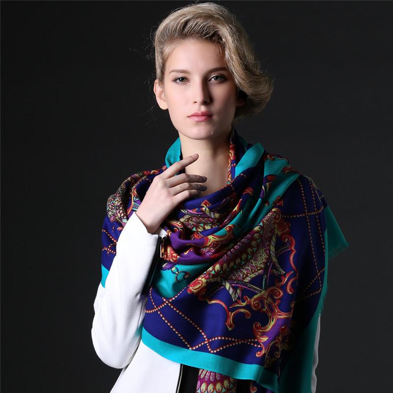 羊绒围巾女冬季加厚韩国春秋百搭100%纯羊毛围巾披肩两用加厚秋冬