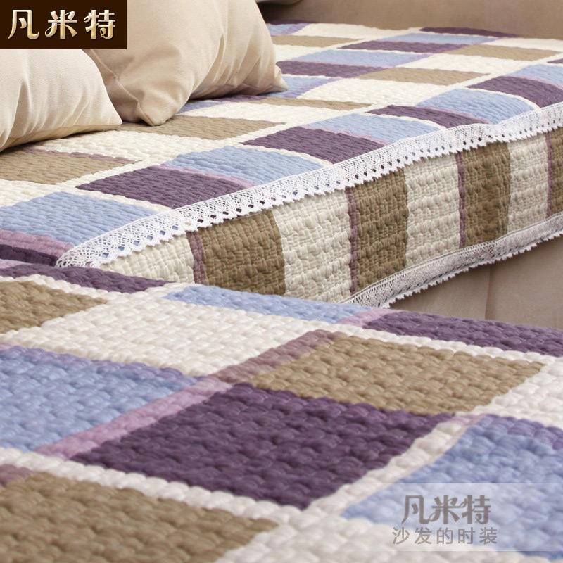 凡米特 高档沙发垫布艺全棉时尚纯棉坐垫简约冬季加厚防滑沙发巾