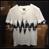 三皇冠 SELECTED思莱德 正品代购 短袖T恤417201549 417201549A06