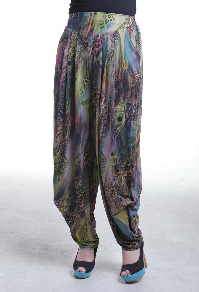 阔腿裤长裤新款大码女式裤子灯笼裤宽松显瘦大裆裙裤韩版潮高腰夏
