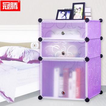 冠腾简易床头柜 现代简约时尚迷