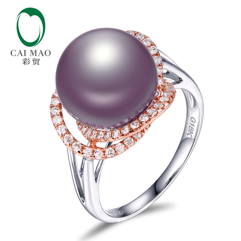 珍珠戒指的镶嵌款式