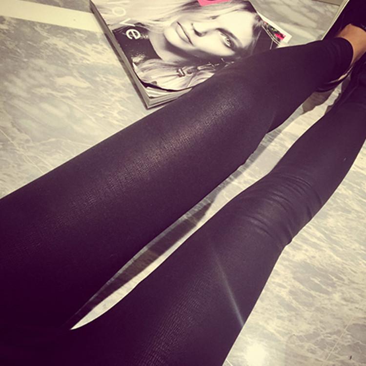 2014新款女皮裤韩版女士秋冬皮裤外穿打底裤冬款加厚加绒打底裤冬