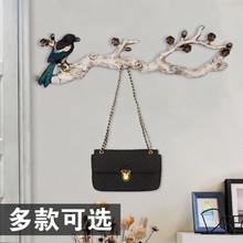 美式装饰钥匙挂钩壁挂创意门口置物架墙上艺术复古墙壁玄关衣帽钩