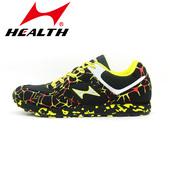 三级立定跳远鞋 男女学生体育田径比赛跑步鞋 海尔斯中考跑步跳远鞋