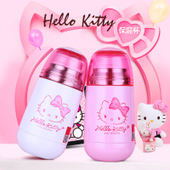 hello kitty儿童水杯不锈钢保温杯便携防漏宝宝喝水壶女童杯子