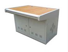 正品京峰双联铝合金扶手平台监控操作台监控机柜操作台机柜