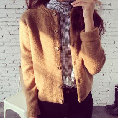 [最后一天] 秋季新品韩版针织衫开衫长袖女装学生毛衣厚初秋女士短款上衣外套