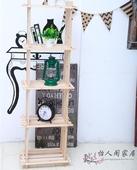 包邮宜家创意4格架木架书架置物架层架花架实木鞋架储物架玩具架