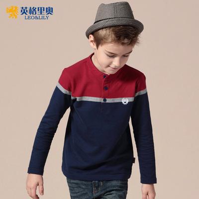 男童长袖t恤 儿童T恤春秋款童装2015英格里奥 儿童长袖t恤衫韩版