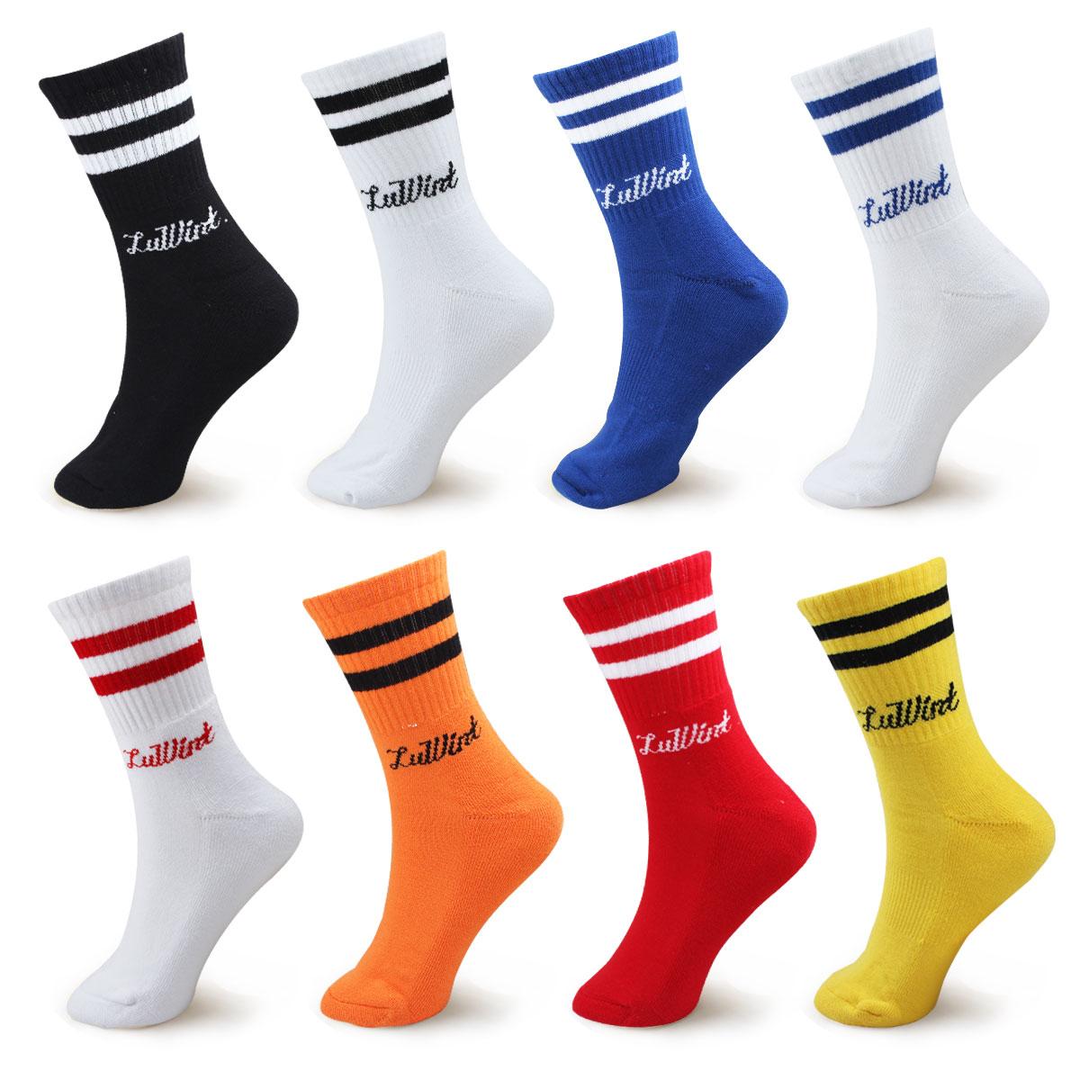 包邮 Luwint足球袜加厚毛巾底足球中筒短袜 运动袜篮球袜羽毛球袜