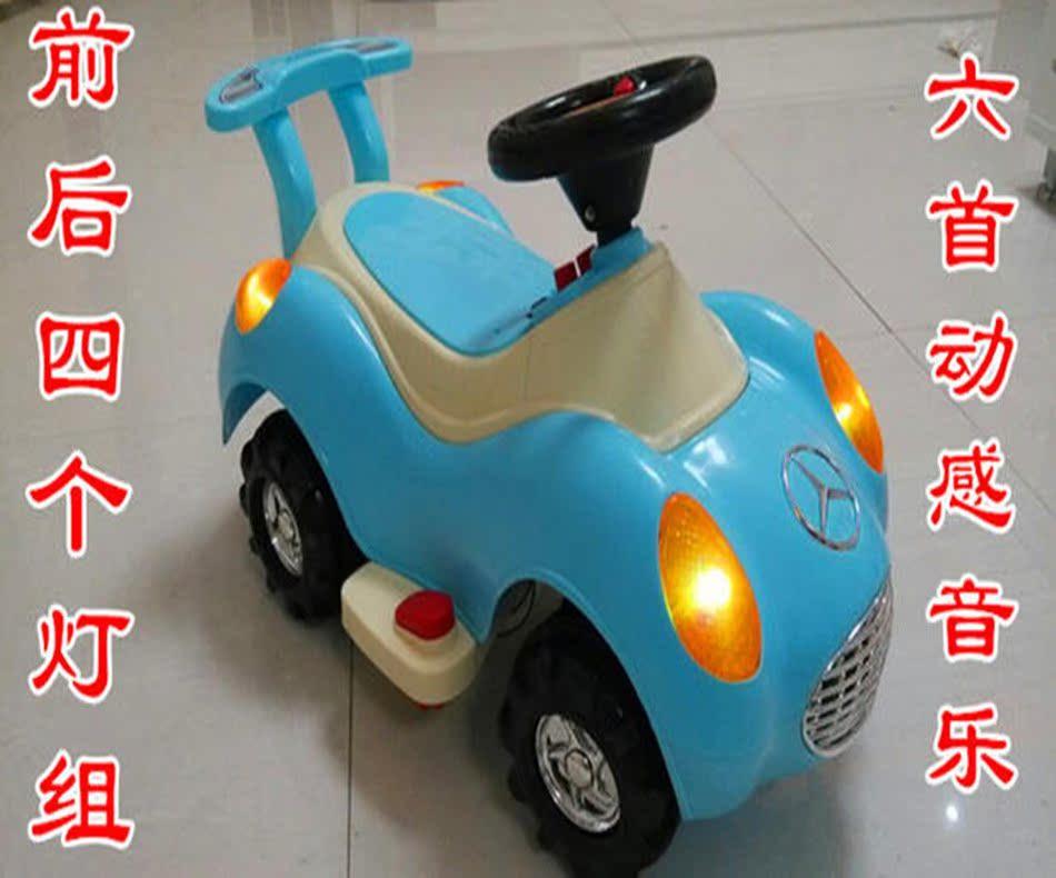 新款儿童电动车宝宝电动四轮汽车奔驰电动车滑行车童车摩托车包邮