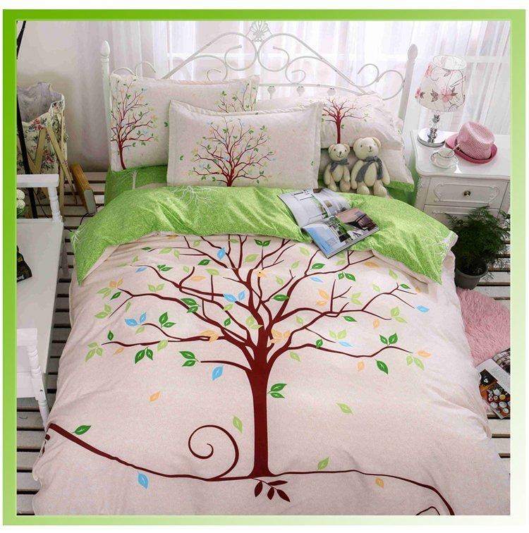 热卖热卖被套布艺软饰儿童床上用品家纺四件套植物卡通动漫现代中