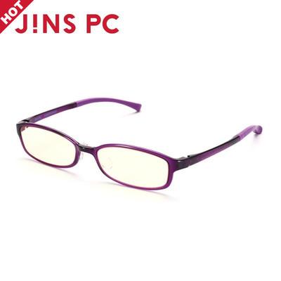 日本JINSPC镜TR90眼镜框防辐射眼镜防蓝光电脑护目眼镜男女款PC01