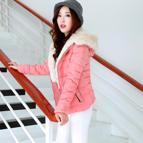 季新款羊羔毛羽绒服 韩版修身羽绒服FL-A1128-868-885