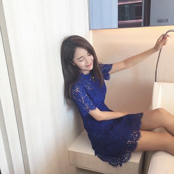 2017夏季新款女装韩国代购明星同