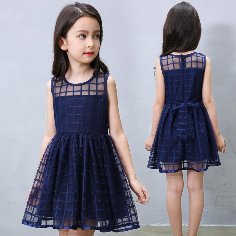 裙子公主连衣裙女童童装小女孩中大童纱裙韩版夏装儿童