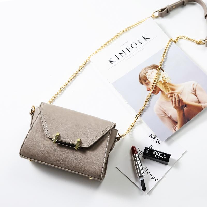 迷你链条时尚包包挎包锁扣女包小方包韩版小包