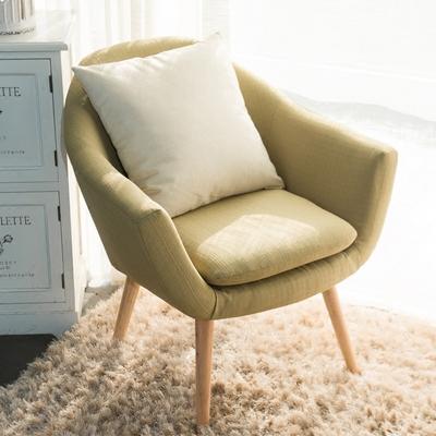 北欧现代简约懒人沙发椅卧室小户型单人客厅餐厅休闲布艺沙发椅子