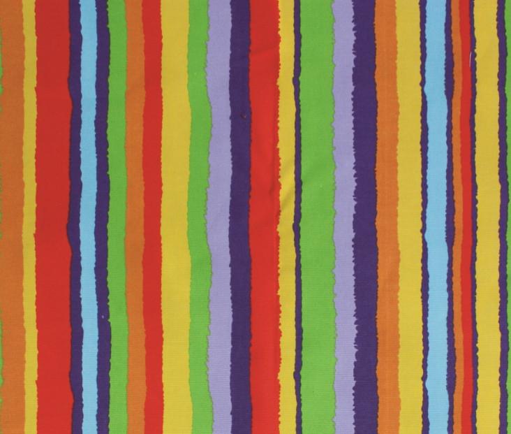 彩虹条帆布衣柜布套