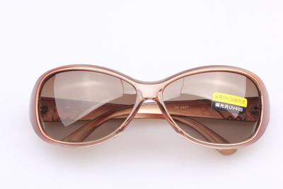 正品偏光镜太阳镜女时尚潮流马克爆龙眼镜蛤蟆镜明星款墨镜 07