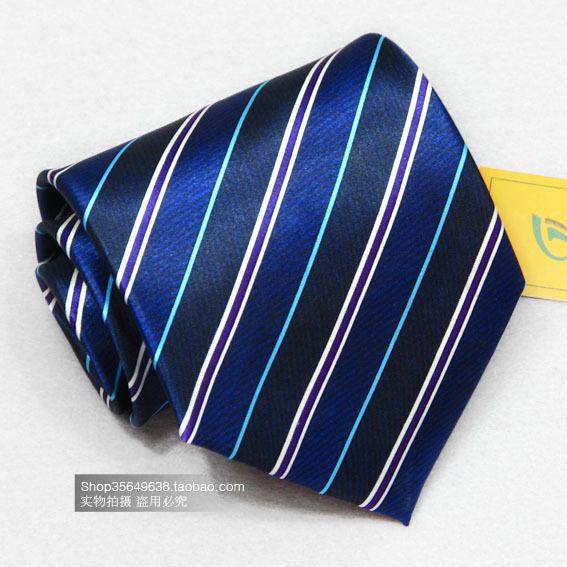 厂家直销满80送T恤满150送衬衣超值男士正装条纹碎花结婚真丝领带