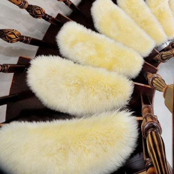 免胶自粘自吸楼梯垫羊毛地毯欧式