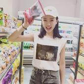 夏装新款宽松显瘦外穿背心韩国简约印花无袖t恤女上衣学生打底衫