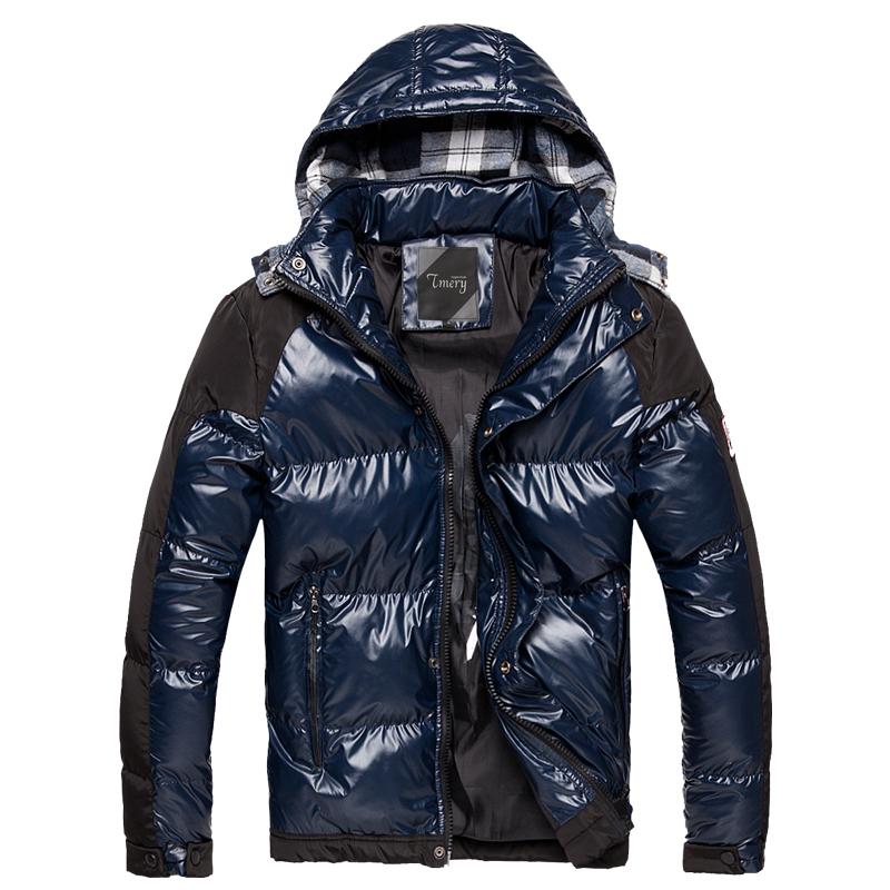 2013新款保暖冬装外套 男装帽子可拆卸棉服 短款亮面棉袄特价棉衣