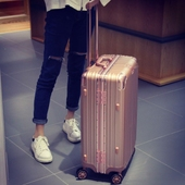 皮箱子 29密码 学生铝框旅行箱行李箱万向轮拉杆箱女男潮24寸20
