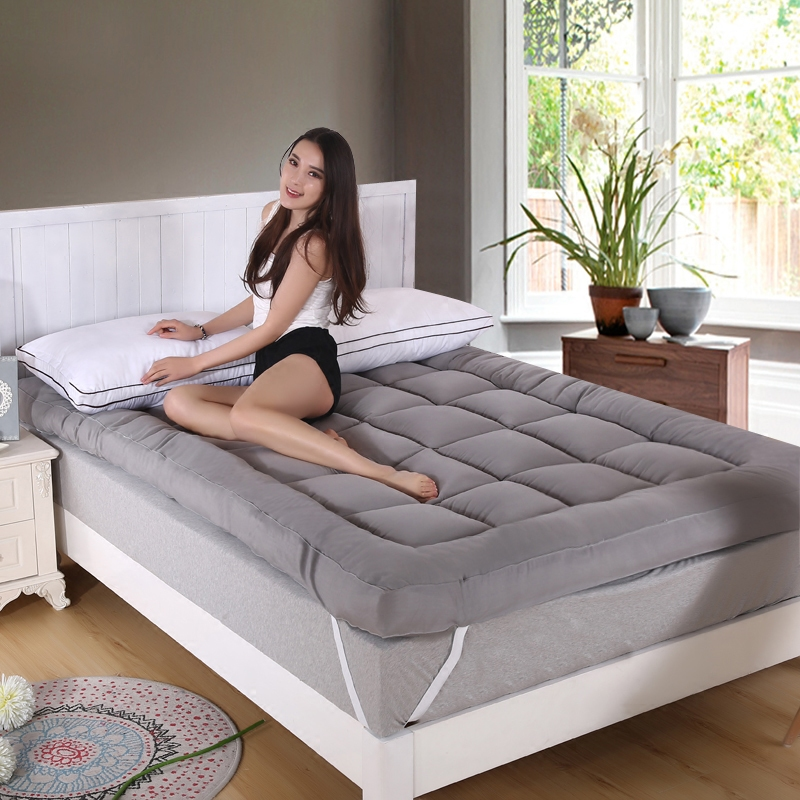 立体双人床褥子垫被床榻床垫单人防滑学生宿舍