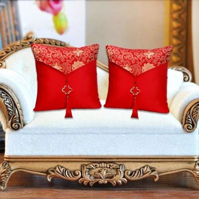 情侣抱枕靠垫结婚抱枕一对婚庆压床创意结婚摆件结婚礼物家用客厅