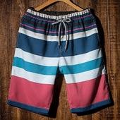 夏季男沙滩裤速干情侣休闲短裤大码五分运动裤海边度假泳裤大裤衩