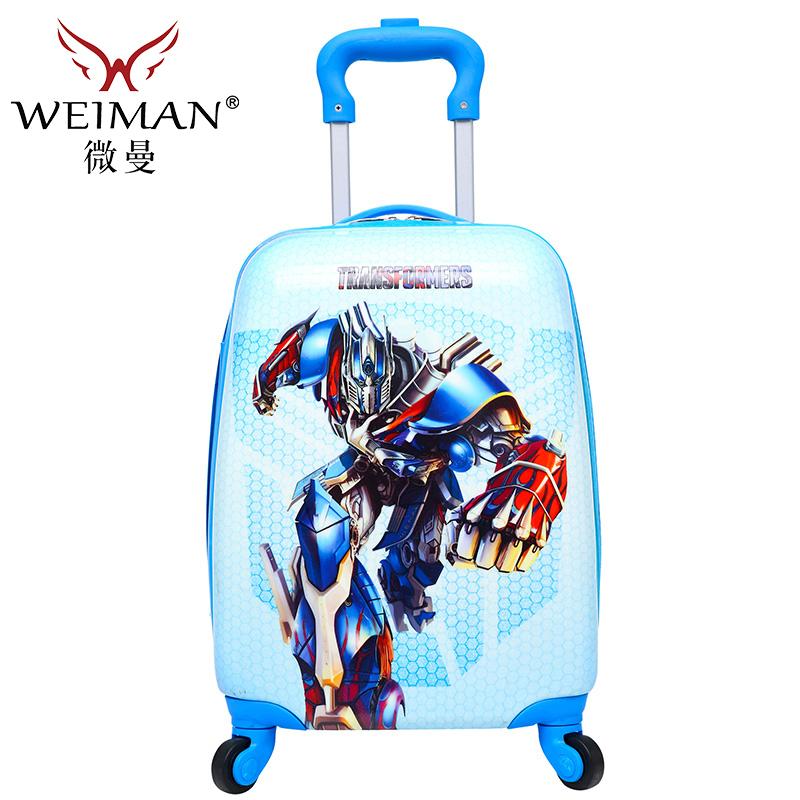 寸儿童拉杆箱万向轮旅行箱卡通行李航空箱小学生宝宝箱 17